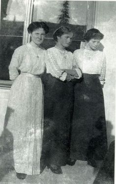 Grand Duchesses Olga and Tatiana Nikolaevna.