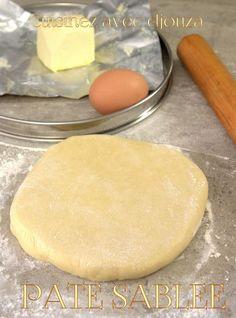 recette de la tarte sablée aux amandes tirée des fiches techniques du CAP pâtissier. Une pâte maison très facile en suivant ces quelques conseils. Des tartes