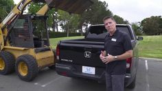 See how the 2017 Ridgeline handles over 800 pounds of stone being dropped into its bed!