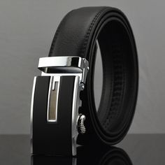 Fashion designer men accessories cow genuine leather belts for men,strap male business for belt automatic buckle,cintos Q118-1