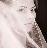 Bella Donna Makeup looks beautiful with both high definition  color and dramatic black and white photos