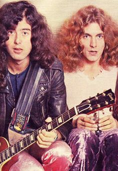 Dazed and Confused Jimmy Page & Robert Plant of Led Zeppelin