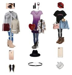 """""""Untitled #106"""" by sosgirl52 ❤ liked on Polyvore featuring Topshop, WithChic, Jacques Vert, Michael Kors, Mansur Gavriel, Casetify, Norma Kamali, Yves Saint Laurent, Gucci and Giani Bernini"""