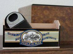 Mini Tool Box Altered Cigar Box Cigar-Smoking by ShopwornDesigns