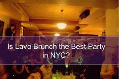The weekly brunch party at Lavo is one of the most exclusive, upscale parties in the city. Brunch Nyc, Brunch Party, Lavo Brunch, Concrete Jungle, City Living, Nightlife, Best Part Of Me, Night Club, New York City