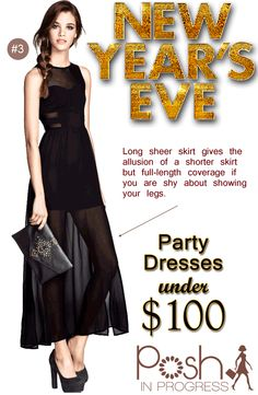 New Years Eve Party Dress Under $100, H&M #fashion #style #dresses #partydresses