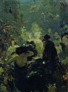 Ilya Repin    Sadko In The Underwater Kingdom, 1875