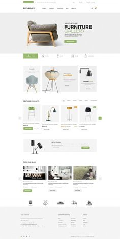 Buy Futurelife - eCommerce PSD Template by Pixel-Creative on ThemeForest. Description Futurelife – Ecommerce PSD Template is a uniquely ecommerce website template designed in Photoshop with a. Website Design Inspiration, Website Design Layout, Web Layout, Layout Design, News Web Design, App Design, Portfolio Webdesign, Template Web, Ecommerce Template