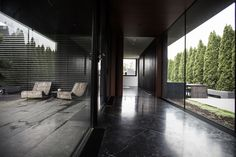 House in Black | OZA | SABBETH ARCHITECTURE | Archinect