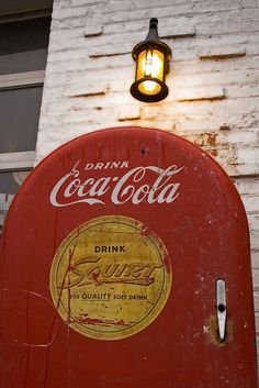 Vintage Coca-Cola - old drink machine