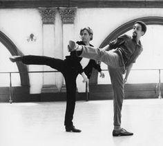 White Nights (1985), starring Mikhail Baryshnikov and Gregory Hines
