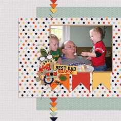Open Wide ~ Template & kit, Man of the House, both by Meagan's Creations.