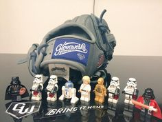 Build your custom glove at gloveworks.net and bring it home! #baseball #softball #sports #sportsgear #equipment #glove #baseballglove #STarwars #Lego #DarthVader #LukeSkywalker #R2D2 #3PO #StormTrooper #Skywalker #ForceFriday #ForceAwakens #Starwars #Disney #LukasFilms