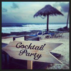 #CocktailParty #barracudabar #dreamspuertoaventuras #amrweddingfam #Padgram