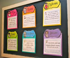 Objectives Display Talk about BEAUTIFUL! I Don't know I have to think of something ;)Talk about BEAUTIFUL! I Don't know I have to think of something ; Classroom Objectives, Objectives Board, 2nd Grade Classroom, Classroom Organisation, New Classroom, Teacher Organization, Classroom Displays, Kindergarten Classroom, Classroom Decor