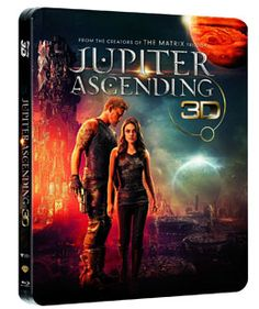 Jupiter Ascending Steelbook 3D Amazon Exklusiv