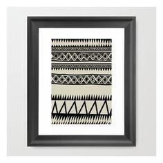 Malou Zebra Framed Art Print ($35) ❤ liked on Polyvore featuring home, home decor, wall art, framed art prints, zebra home decor, black and white framed wall art, black white home decor, aztec wall art and acrylic wall art