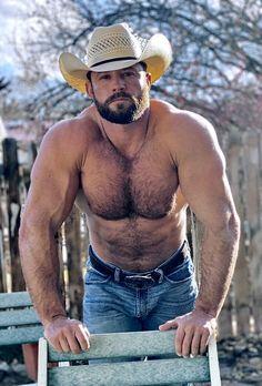 Scruffy Men, Hairy Men, Bearded Men, Muscle Bear Men, Hot Country Boys, Cowboys Men, Beefy Men, Hommes Sexy, Muscular Men