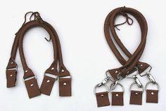 machwerk: Taschenhenkel aus Leder- selbstgenäht!