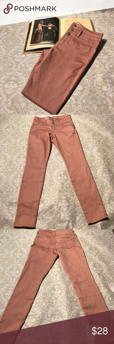 NWOT No Boundaries Blush Skinny Jeans Super cute new size 9 skinny jeans in the color Blush/ Rose Gold.  Measurements: Inseam: 30 inches  Rise: 10 inches  Waist: 14 inches No Boundaries Jeans Skinny