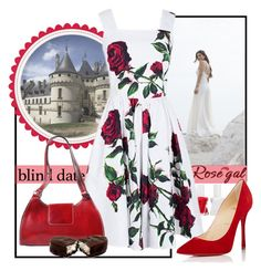 Rosegal by airin-flowers on Polyvore featuring polyvore, fashion, style, Christian Louboutin, Essie and clothing