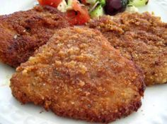 Breaded-Parmesan Pork Cutlets from Food.com: just a good old-fashioned recipe