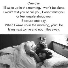 63 Ideas Good Morning Quotes For Him Long Distance Feelings Cute Love Quotes, Soulmate Love Quotes, Love Quotes For Her, Romantic Love Quotes, True Quotes, Quotes Quotes, Bed Quotes, Sucess Quotes, Romantic Couples