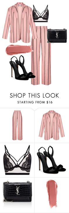 """Buisness Chic 2.0"" by livbrownxo on Polyvore featuring Giuseppe Zanotti and Yves Saint Laurent"