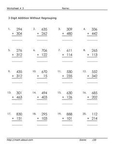 math worksheet : free math printable 2 digit subtraction with regrouping worksheet  : Math Regrouping Worksheets