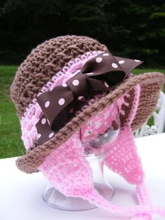 Crochet Hat Patterns  Childs Earflap Hat by PatternsByKrissy, $5.99