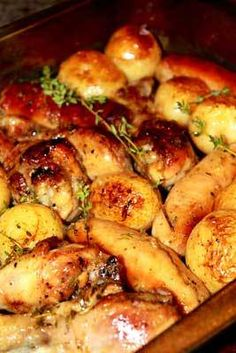Chicken & Sausage with Potatoes