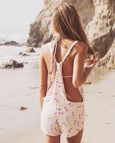 Beach overalls