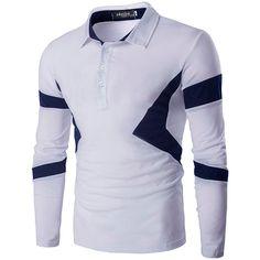 Camisa Polo Manga Longa Andrew