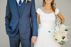 Navy and Peach Wedding | photography by http://rebekahwestover.com/