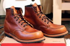 Red Wing Beckman 9012 Boots In Chestnut