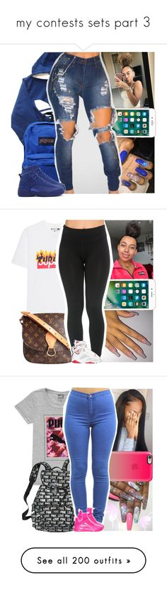 """my contests sets part 3"" by danny-baby ❤ liked on Polyvore featuring adidas, JanSport, NIKE, Louis Vuitton, Retrò, Casetify, Puma, CÉLINE, UGG Australia and MCM"