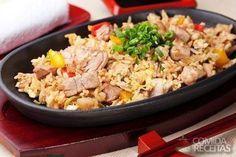 Receita de Arroz de forno com frango - Comida e Receitas