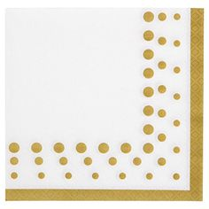 Creative Converting 317842 16 Count Paper Lunch Napkins Sparkle and Shine Gold -- Read more reviews of the product by visiting the link on the image.