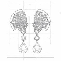 May your 2016 be sparkling as Van Cleef🌟💎✨🎉. Taken by sandrashukstule on Thursday December 2015 Jewelry Design Drawing, Artwork Design, High Jewelry, Jewelry Art, Jewellery Sketches, Jewelry Sketch, Necklace Drawing, Jewelry Illustration, Victorian Jewelry