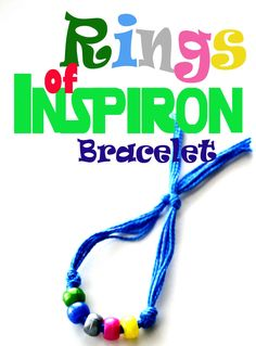 Show off your super fashion when you make your #DisneyBuddies Rings of Inspiron bracelet!