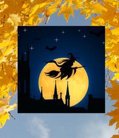 Halloween Window Clings, Indoor Lights, See Videos, Window Art, Video Clip, Full Moon, Twinkle Twinkle, Colored Glass, Sunlight