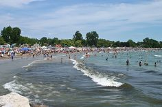 Cobourg beach in the summer time, Ontario, Canada Canada Pictures, Rice Lake, Largest Countries, My Town, Ontario, Summer Time, Vacation, World, Beach