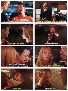 Pepper & Tony