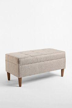 storage bench - we need this!