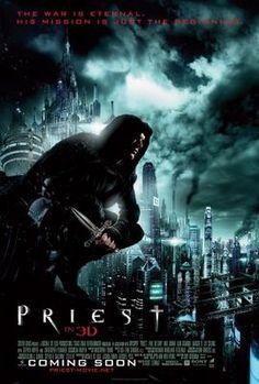 Priest (2011) movie #poster, #tshirt, #mousepad, #movieposters2