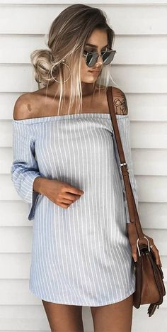 Striped dress | latest trends