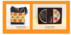 Cheer your day with a dash of orange vintage! - Retro and Vintage China, Glassware and Kitchenalia - yay retro!
