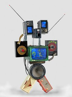 PaikBot    Untitled (Robot)  1992  Smithsonian American Art Museum, Gift to the Nam June Paik Archive from the Nam June Paik Estate