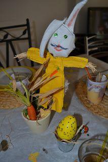 """je les appelle ..""""mes petits bricolages"""": Lapin de Pâques"""