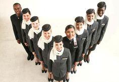 etihad cabin crew uniform - Google Search